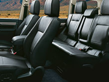 Heated seats for year-round comfort